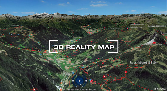 Gasteinertal 3D Reality Card